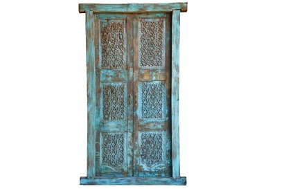 porte ancienne inde type rajasthan sculptures jali paris marseille lyon toulouse lille. Black Bedroom Furniture Sets. Home Design Ideas