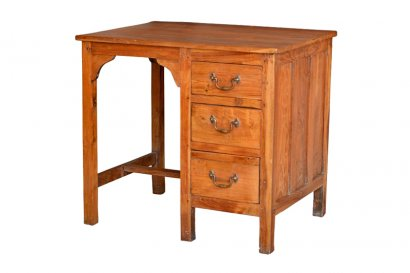 bureau enfant ancien en teck origine inde paris toulouse marseille nice. Black Bedroom Furniture Sets. Home Design Ideas