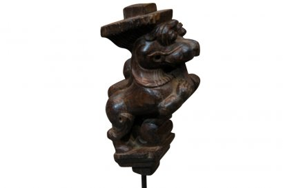 Statuette sculpture lion AH-327