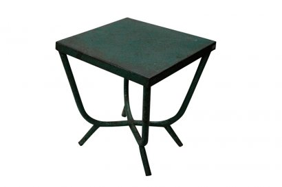 Table métal verte AJ-510
