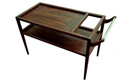 desserte ou table de salon style ann es 50. Black Bedroom Furniture Sets. Home Design Ideas