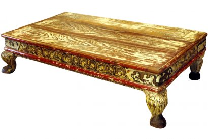 table basse ancienne inde. Black Bedroom Furniture Sets. Home Design Ideas